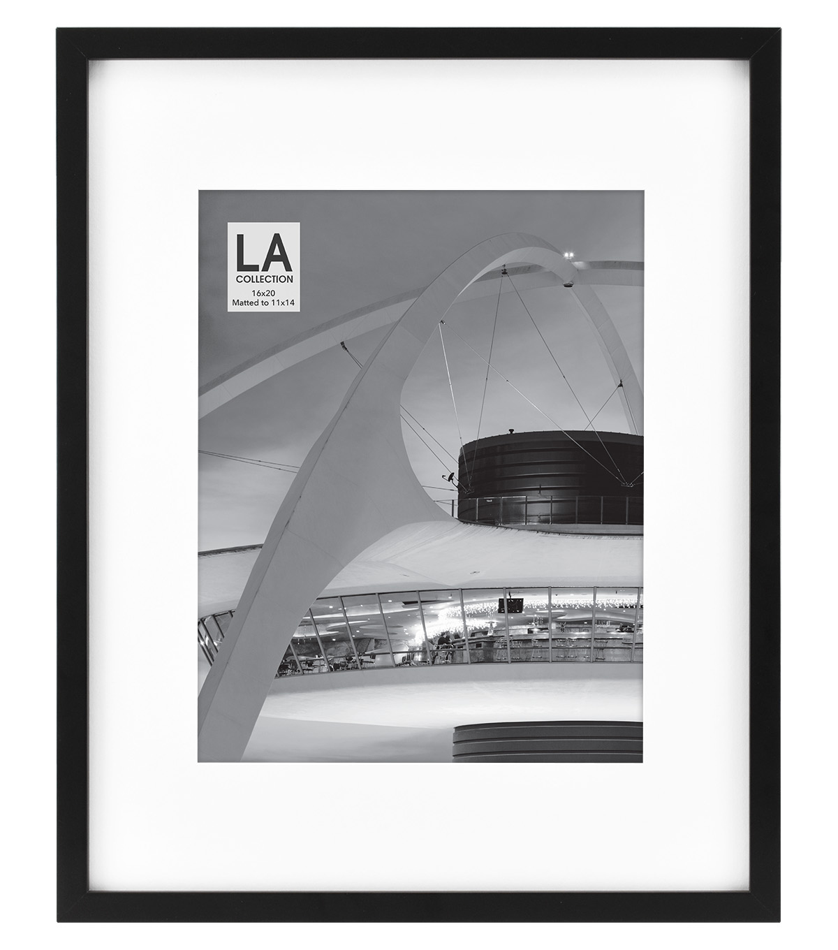 LA Collection Gallery Wall Photo Frame 11\u0027\u0027x14\u0027\u0027-Black