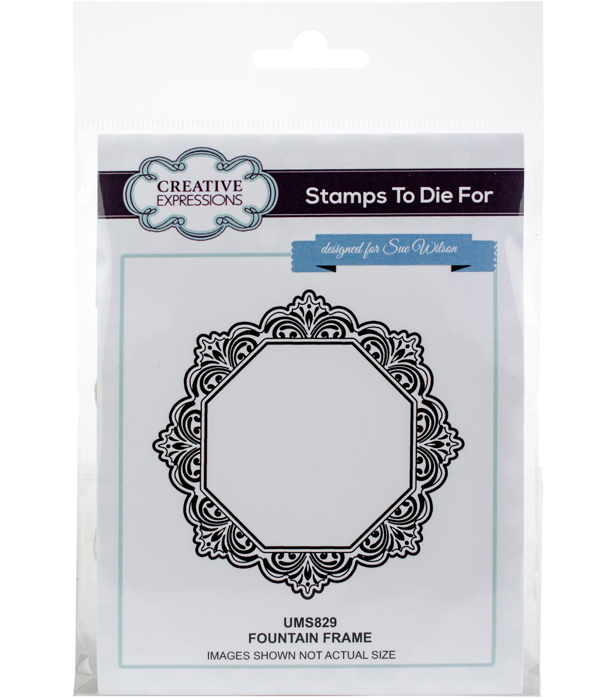 Creative Expressions Stamps To Die For Sue Wilson Stamp-Fountain Frame