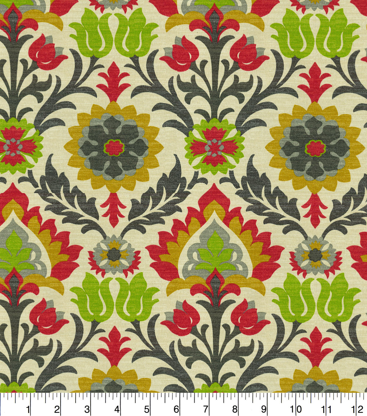 Waverly Sun N Shade Fabric 9\u0022x9\u0022 Swatch-Santa Maria Jewel