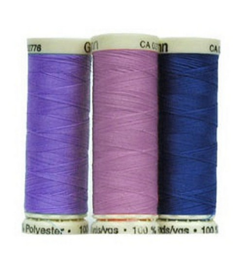 Gutermann Sew All Polyester Thread 110 Yards-Purples