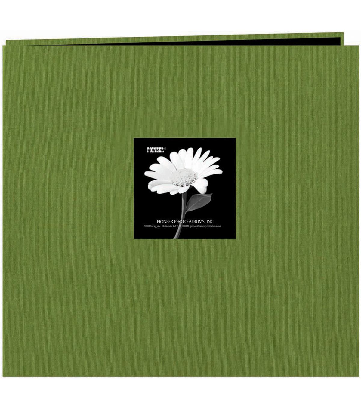 Fabric Frame Scrapbook 12\u0022X12, Herbal Green