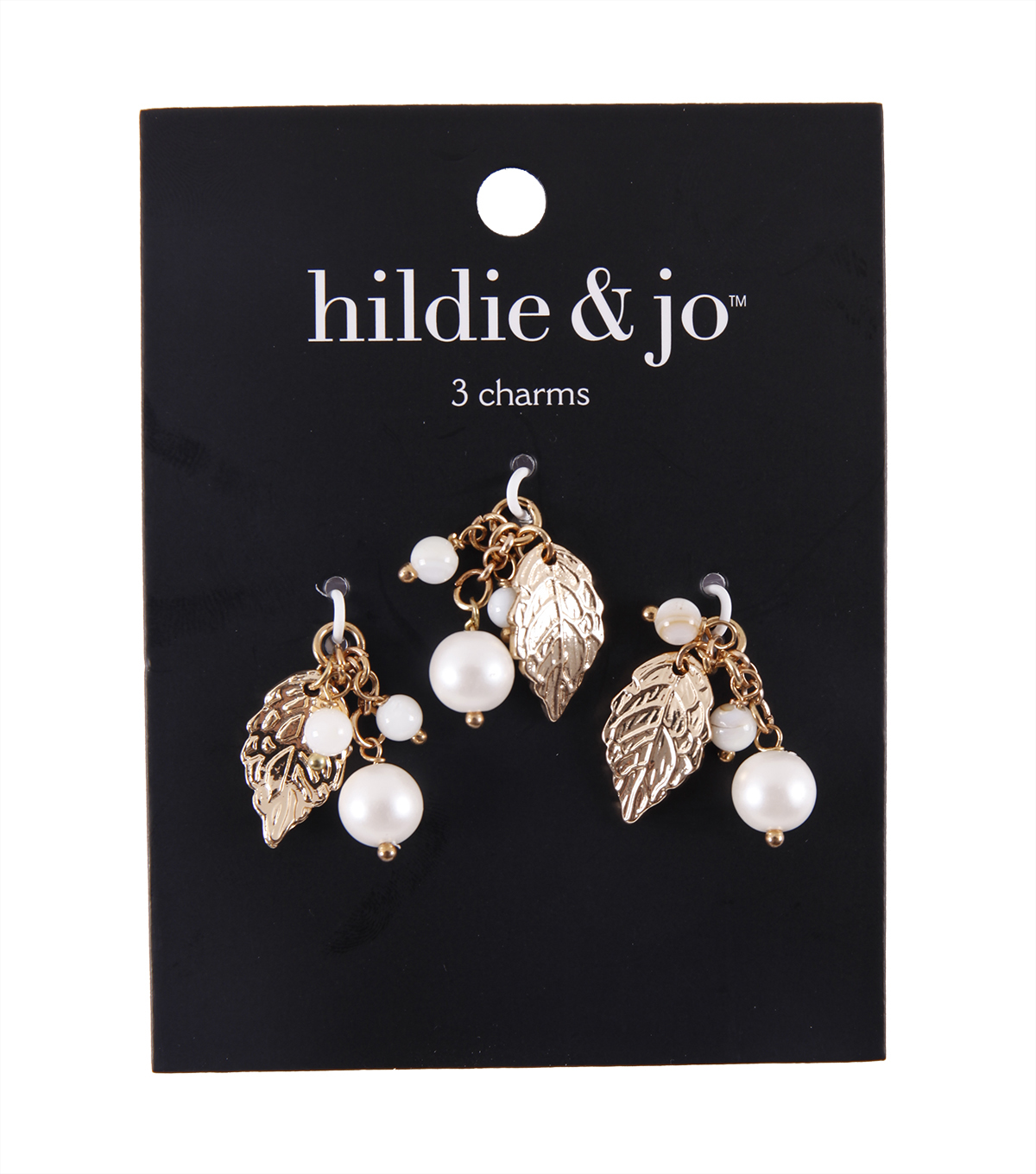 hildie & jo 3 pk 0.9\u0027\u0027x0.4\u0027\u0027 Leaf Dangle Charms