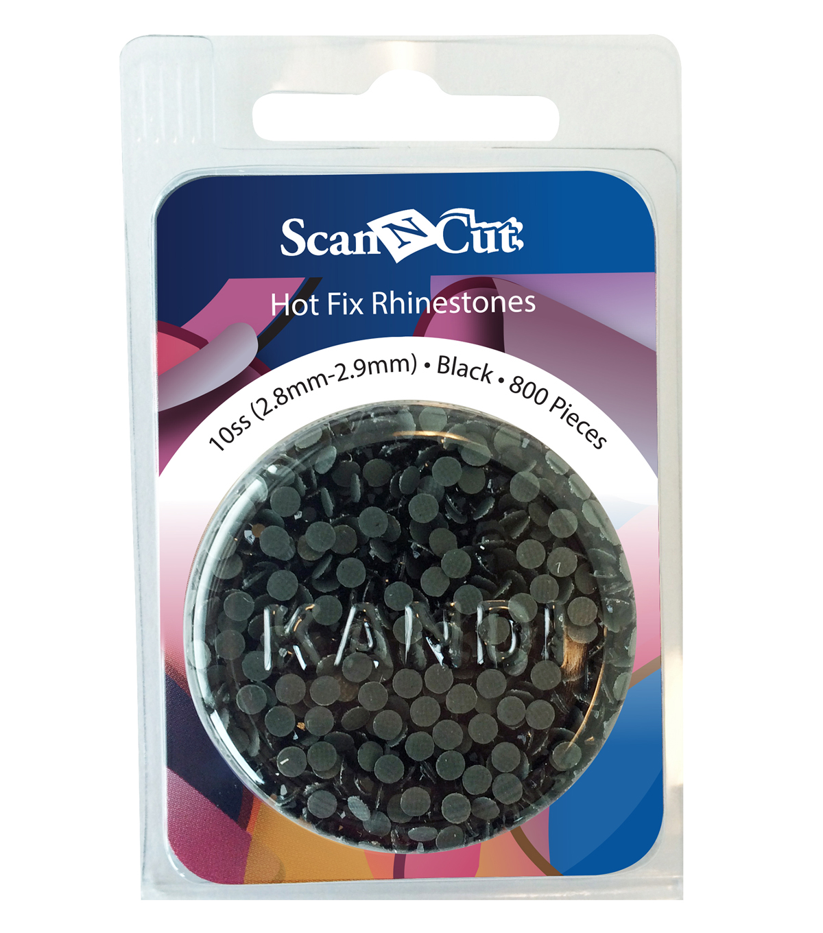 Brother ScanNCut 800pc 10SS Rhinestone Refill Pack-Black