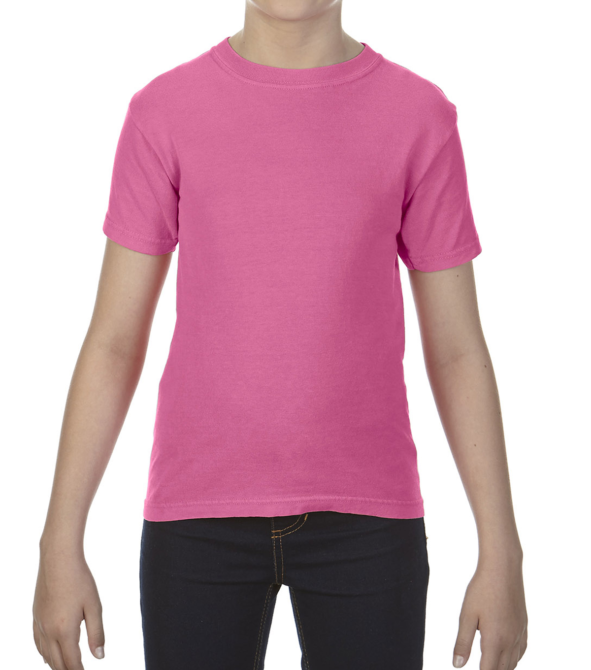 Gildan Comfort Colors 9018 Medium Youth T-Shirt, Crunch Berry