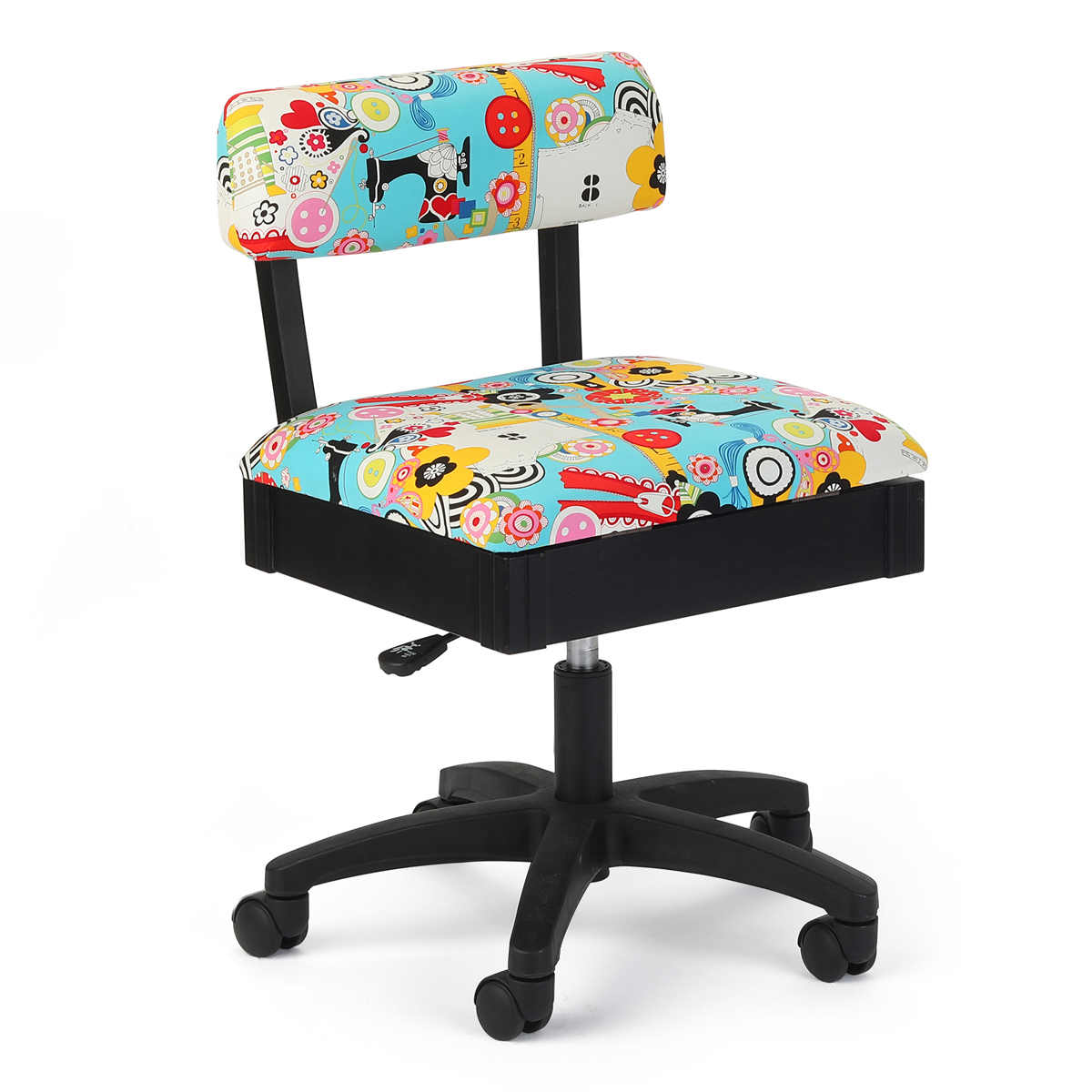 Arrow Hydraulic Sewing Craft Chair-Sew Now Sew Wow Alexander Henry