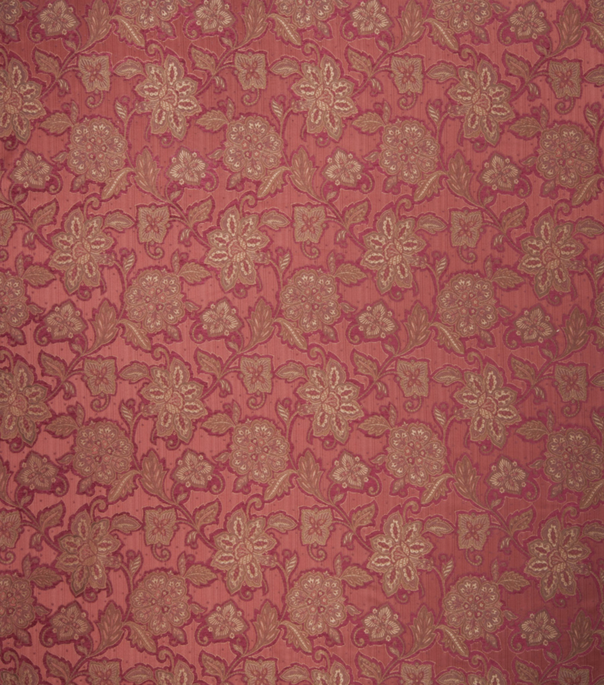 Home Decor 8\u0022x8\u0022 Fabric Swatch-Print Fabric Eaton Square Walters Cinnabar