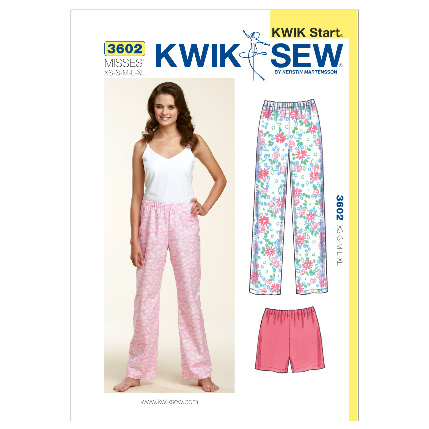 Kwik Sew Misses Sleep & Lounge-K3602