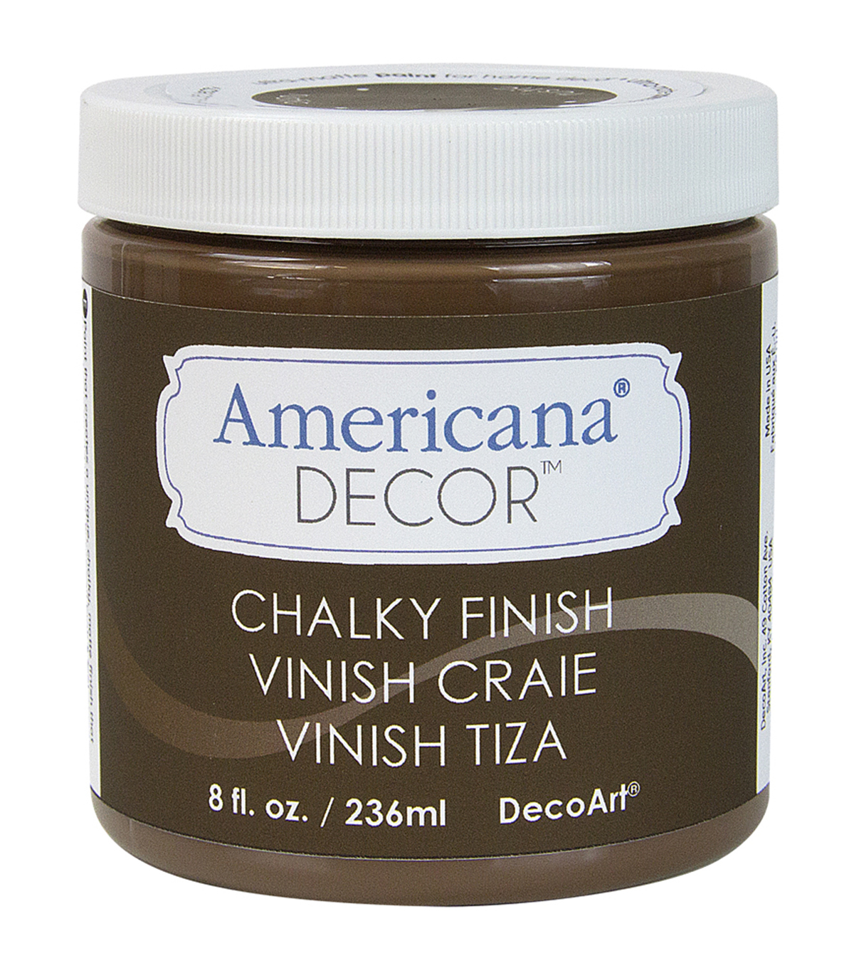 DecoArt Americana Chalky Finish Paint 8oz, Rustic