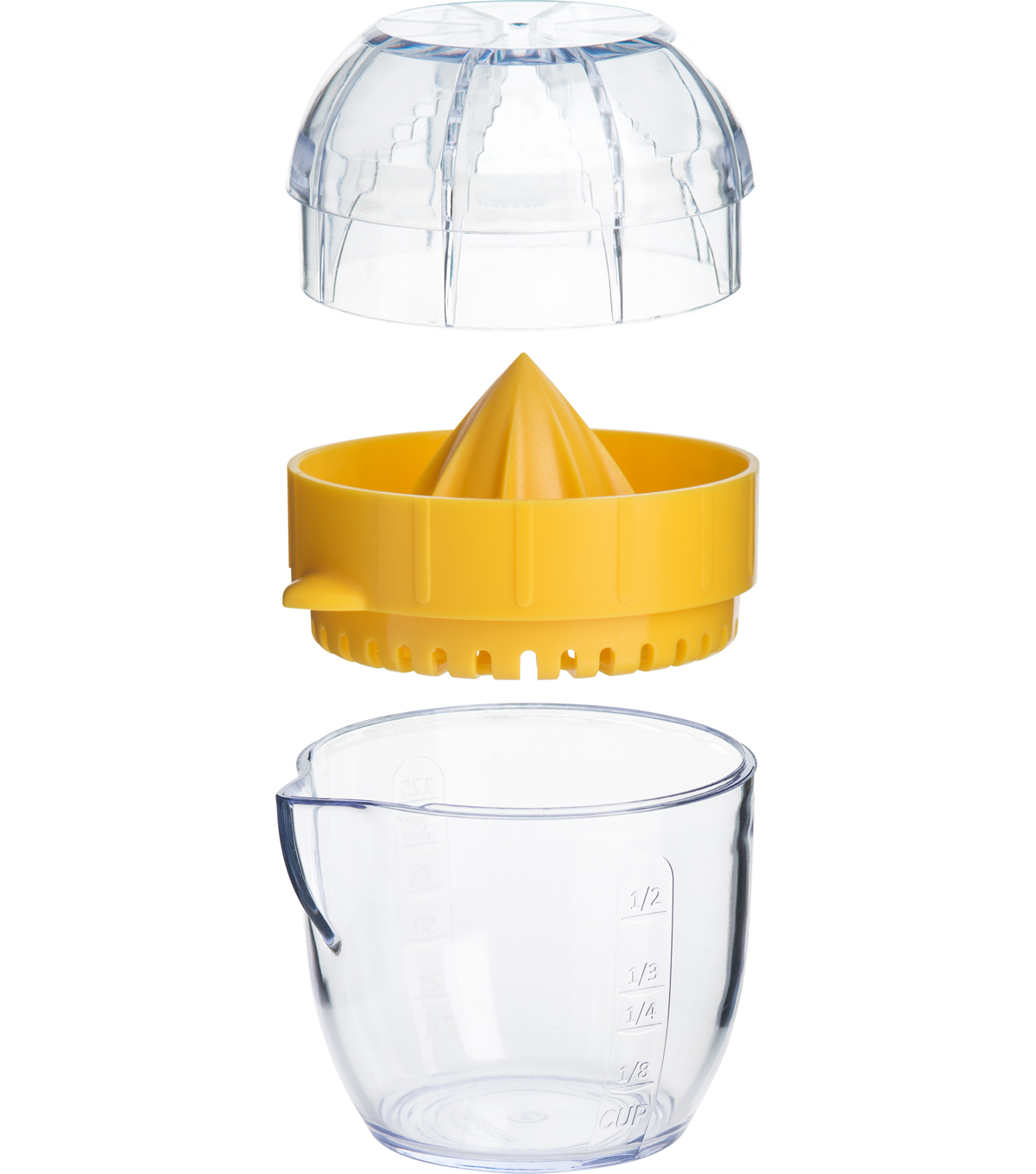 Trudeau Citrus Juicer-Yellow