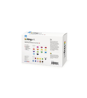 KINGART Designer Series Sketch & Draw Travel Set 30/Pkg