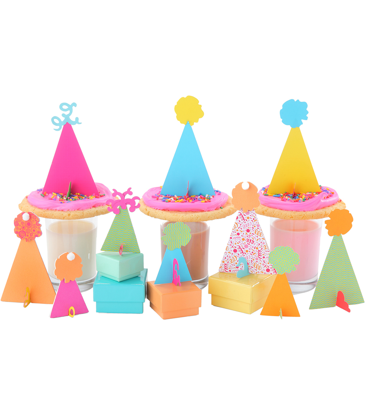 Sizzix Bigz Where Women Cook 3-D Die-Party Hats