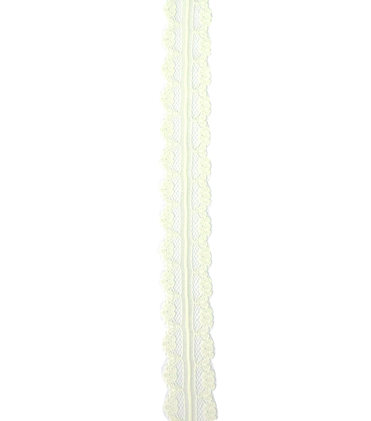 Save the Date 7/8\u0022 x 15ft Ribbon-Ivory Lace