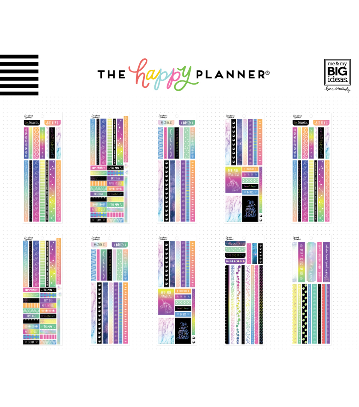The Happy Planner Washi Sticker Book-Magical