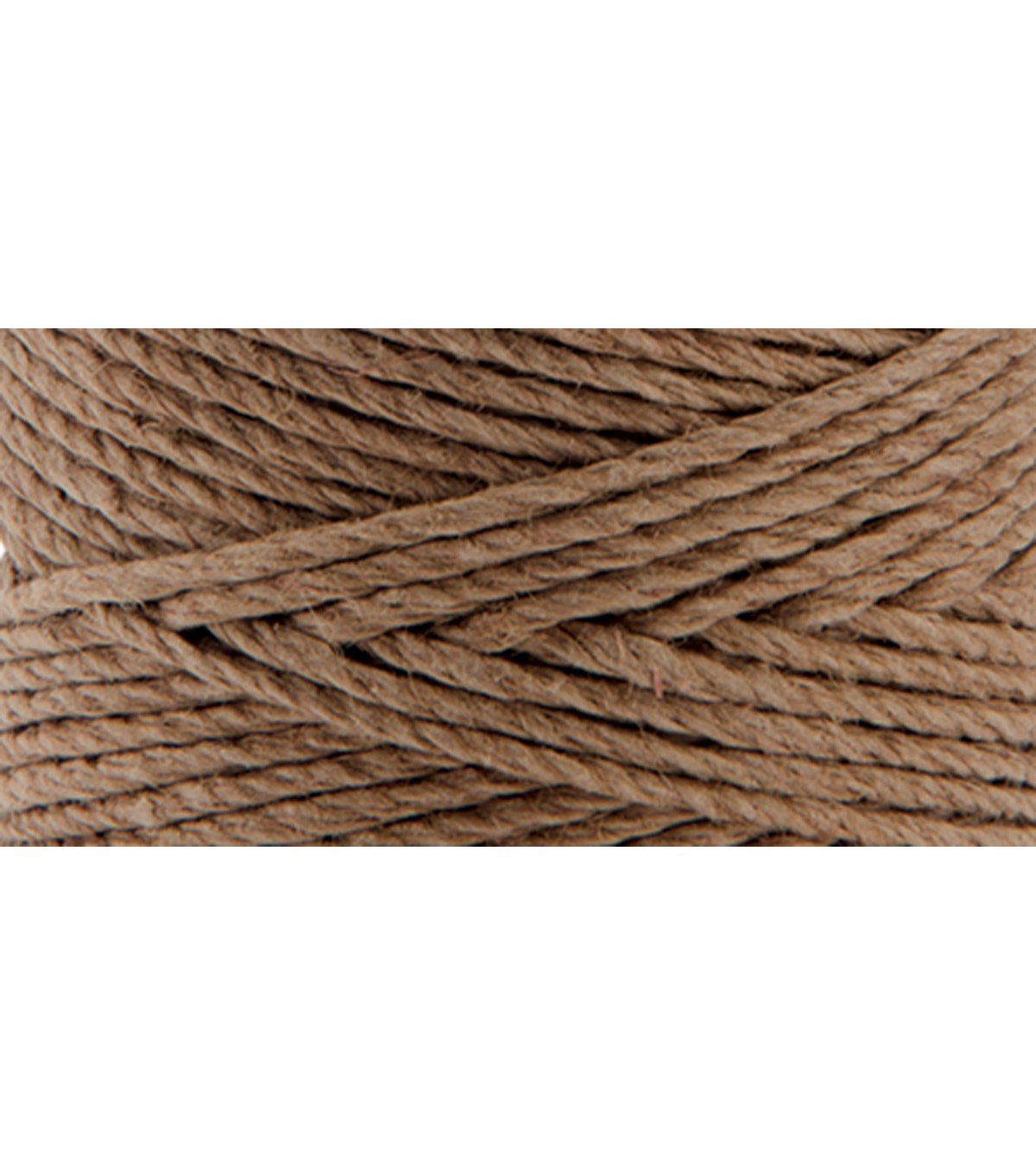 Hemptique #20 205\u0027 Hemp Cord Spool-Light Brown