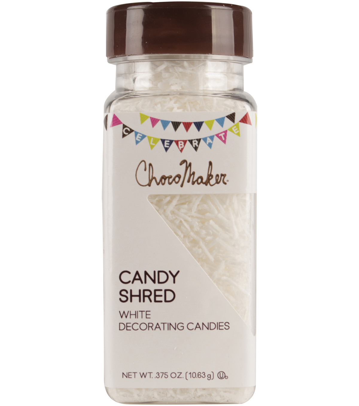 ChocoMaker Candy Shred .375oz-White