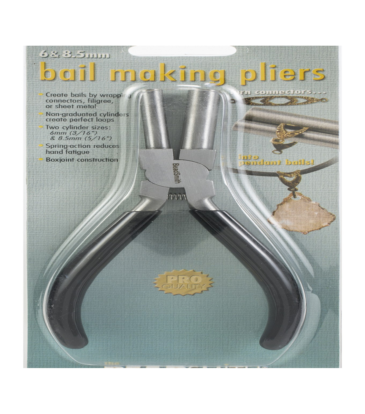 Beadsmith Bail Making Pliers with 6 mm & 8.5 mm Jaws