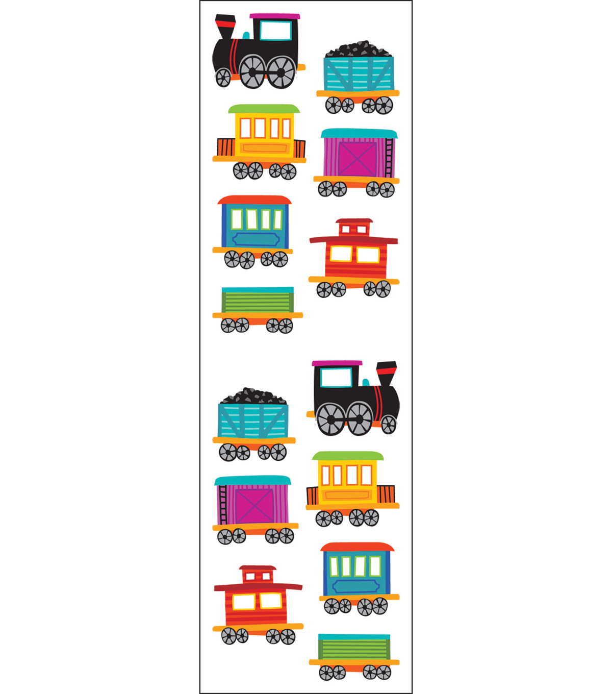 Mrs. Grossman\u0027s Stickers-Chubby Train