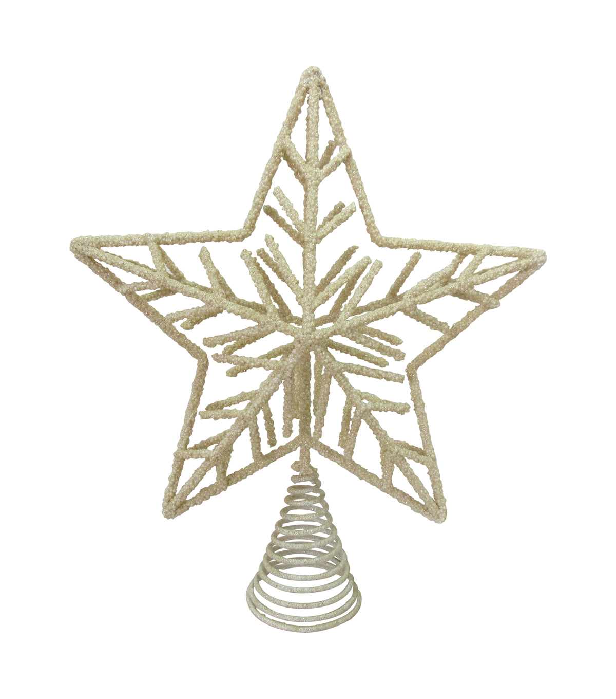 Maker\u0027s Holiday Christmas Nautical Noel Snowflake Tree Topper