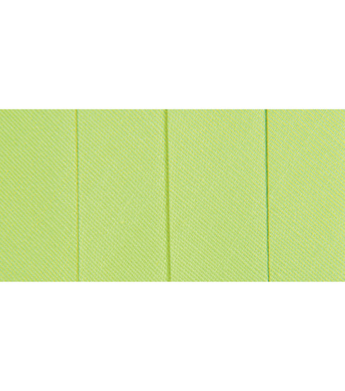 Wrights Extra Wide Double Fold Bias Tape, Lime Green