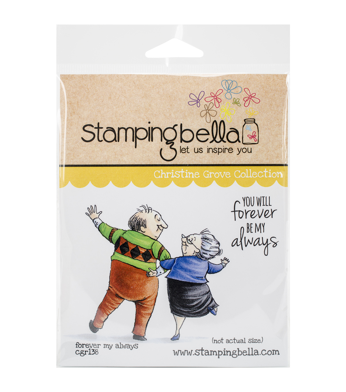 Stamping Bella Cling Rubber Stamp-Forever My Always