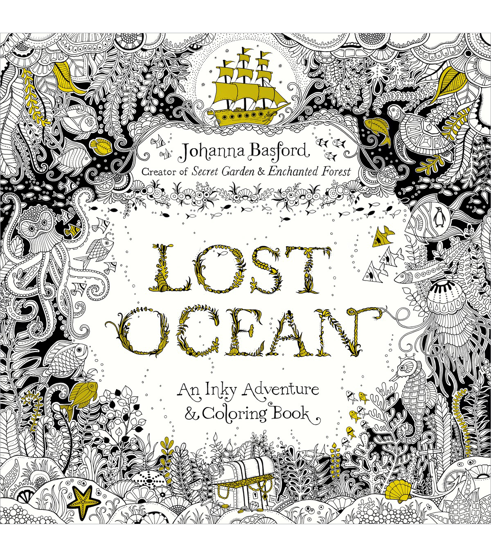 - Lost Oceans - Johanna Basford Coloring Book JOANN