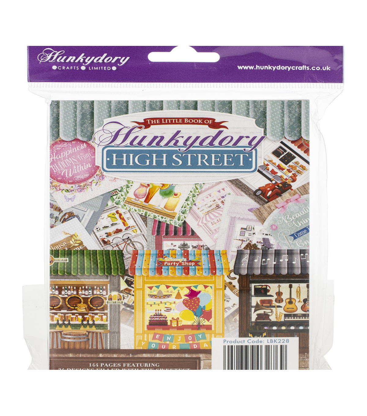 Hunkydory The Little Book Of A6 Paper Pad 144/Pkg-High Street