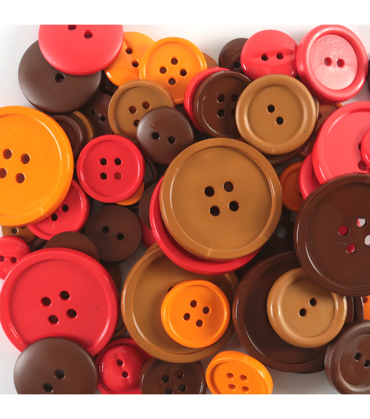 Favorite Findings  3.5 oz. Value Pack Buttons-Autumn Colors