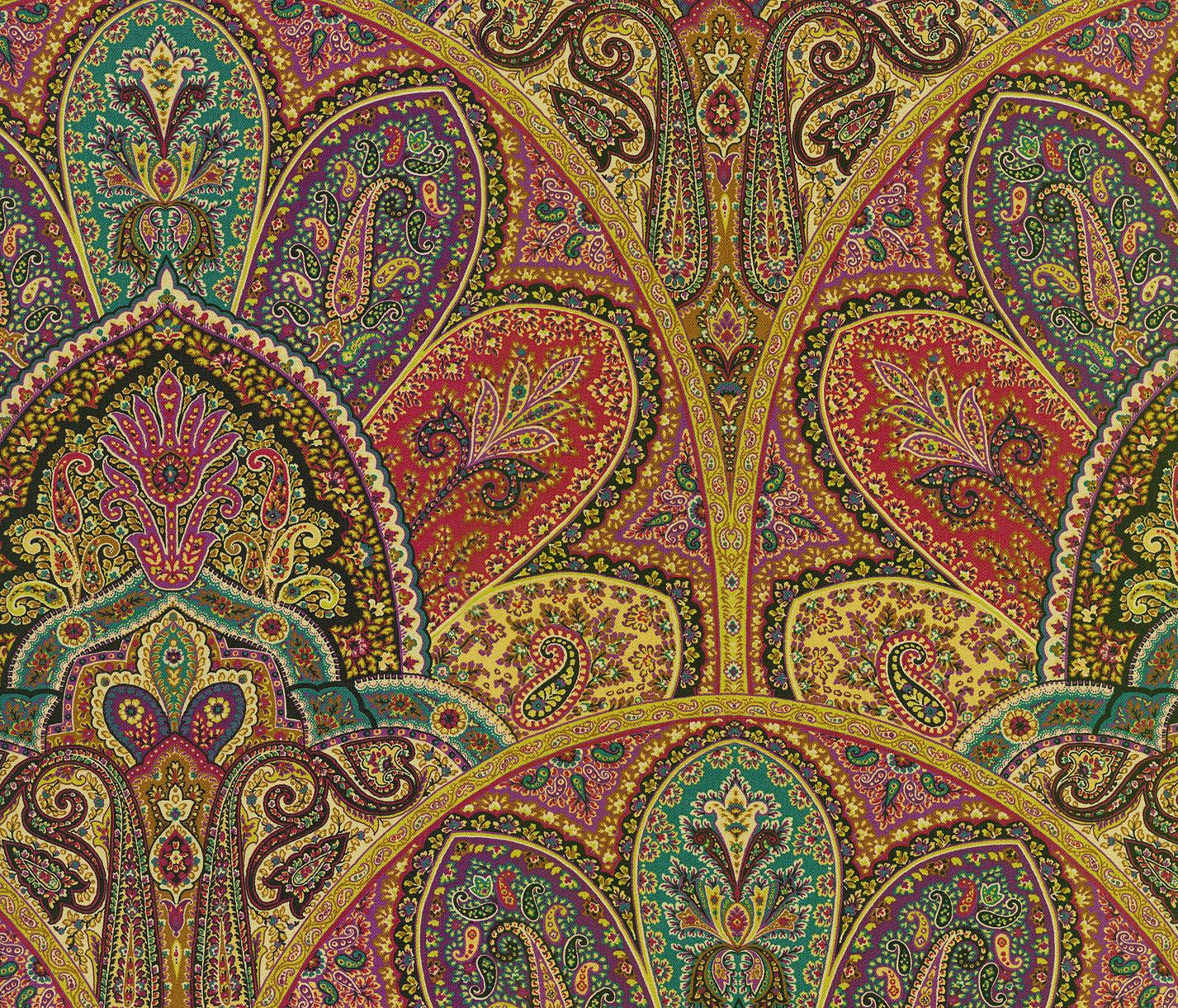 Iman Home Print Fabric 54 U0022 Zulaika Tourmaline