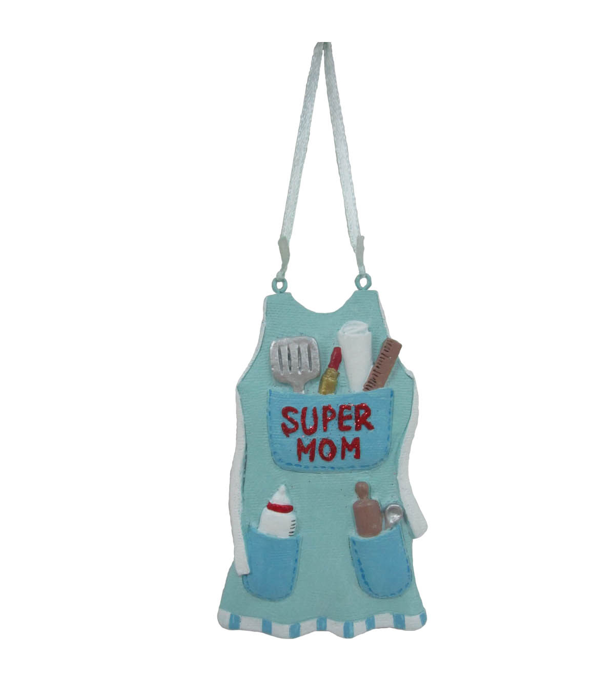 Maker\u0027s Holiday Christmas Ornament-Super Mom
