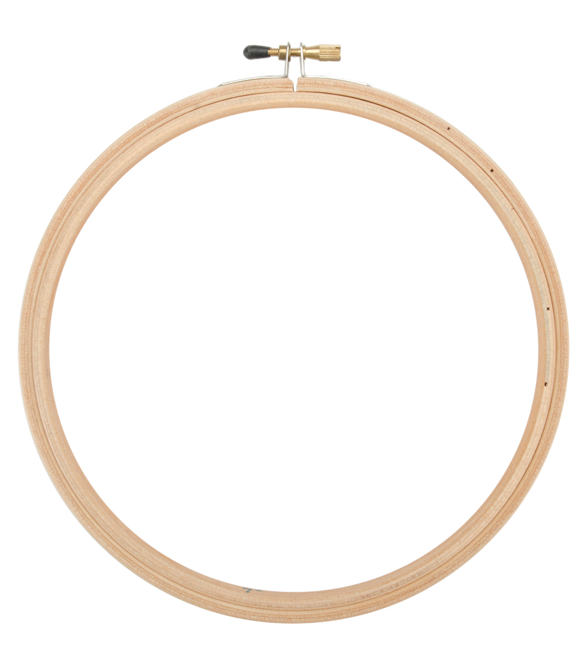 8\u0022 Wood Embroidery Hoop With Round Edges-