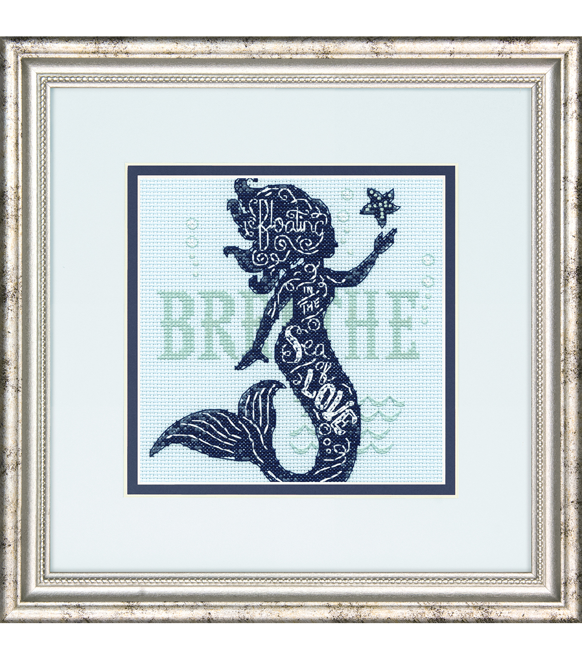 Dimensions Counted Cross Stitch Mini Kit-Mermaid Song
