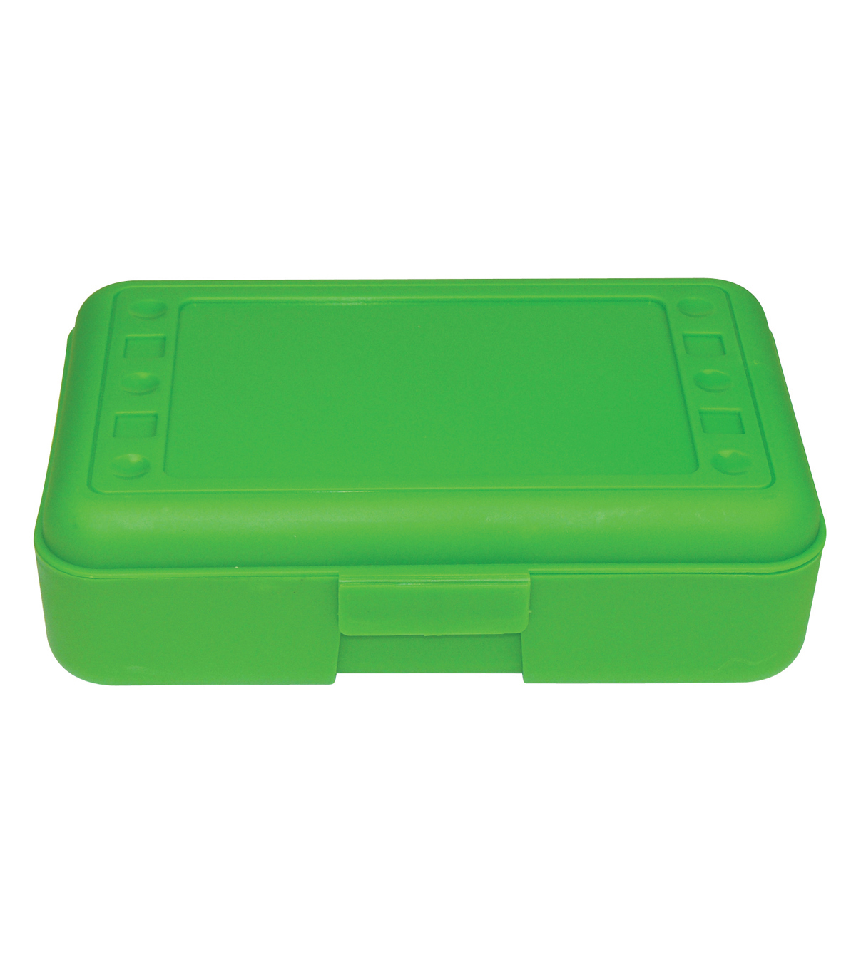 Romanoff Products Pencil Box, Pack of 12, Lime Opaque