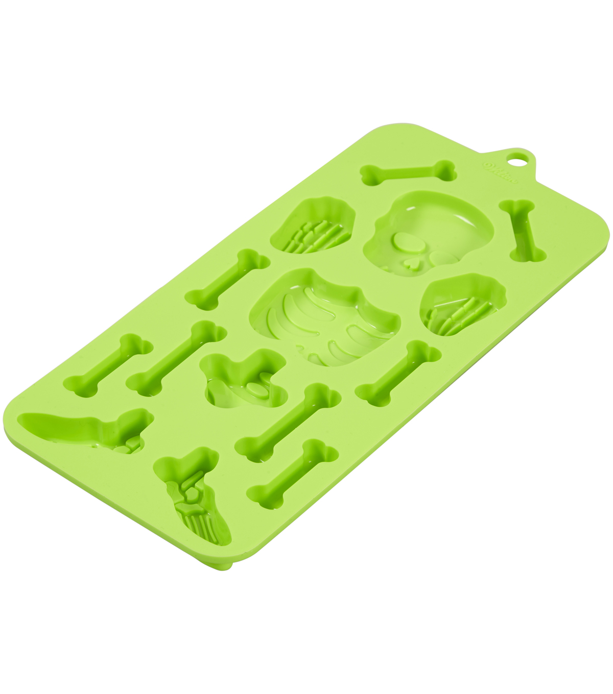 Wilton Maker\u0027s Halloween Silicone Candy Mold-Skeletons