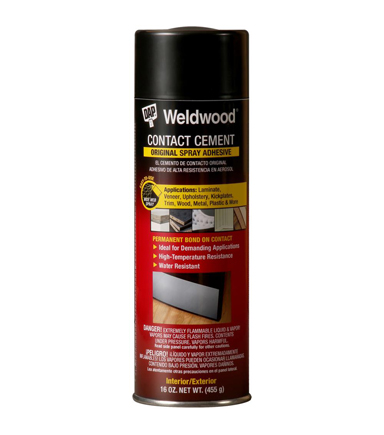 DAP Weldwood 16 oz. Contact Cement Spray Adhesive