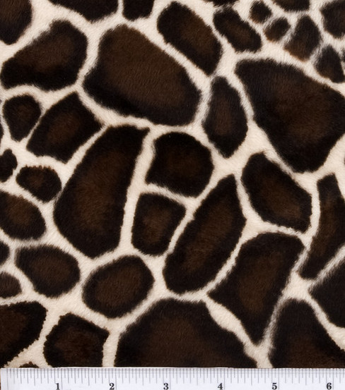 Faux Fur Velboa Fabric Animal Print Joann