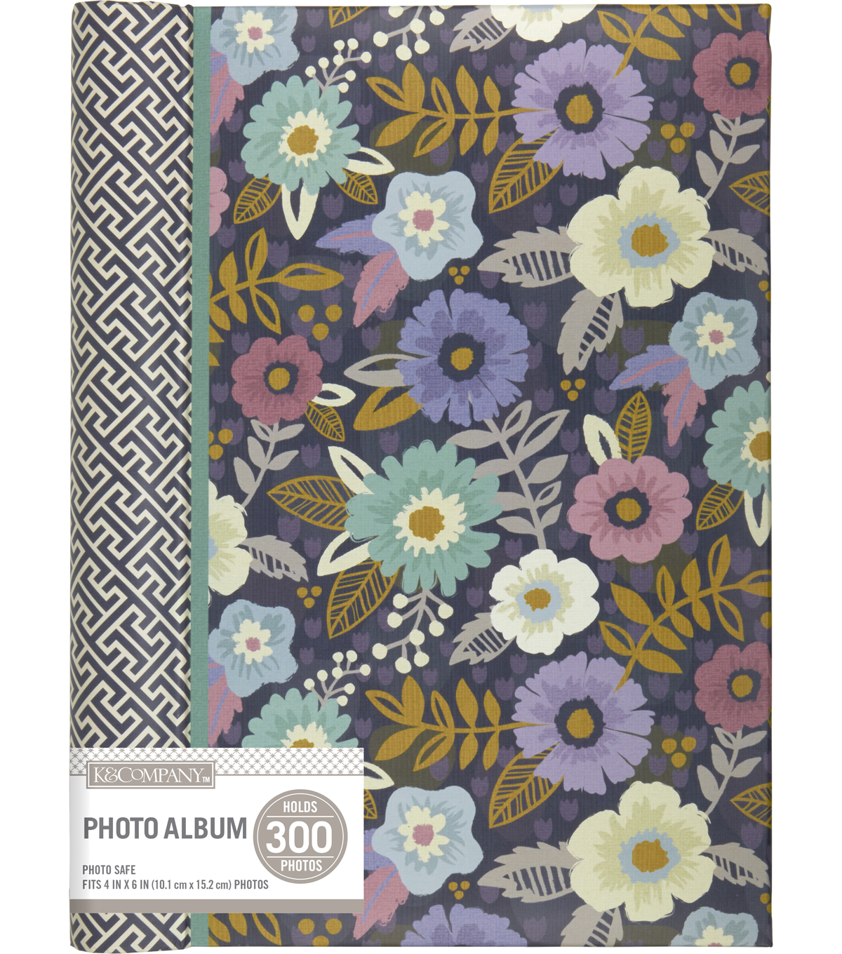 Kcompany Simple Floral 3 Up Spiral Memo Photo Album Joann