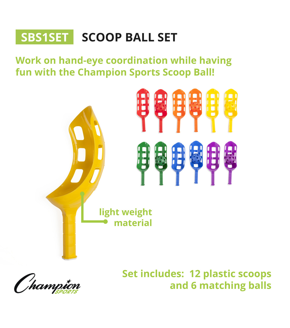 Scoop Ball Set