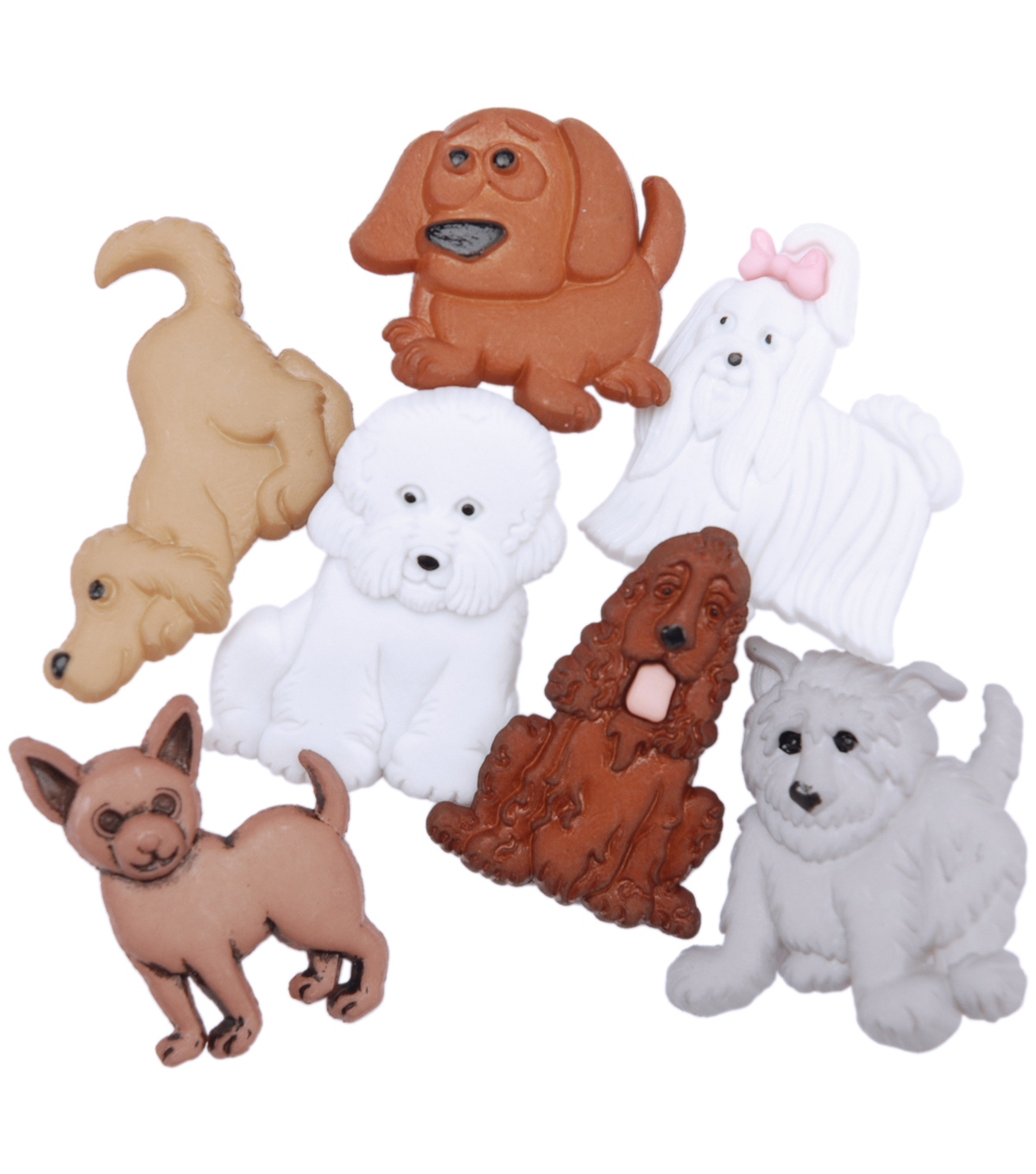 Dress It Up Embellishments, Puppy Parade