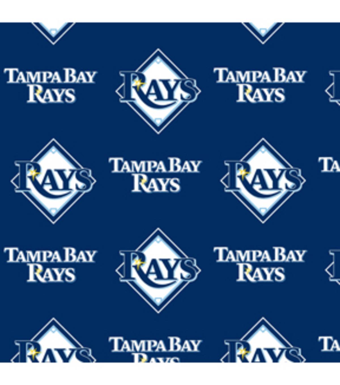 competitive price 91635 99f25 Tampa Bay Rays Fleece Fabric -Logo