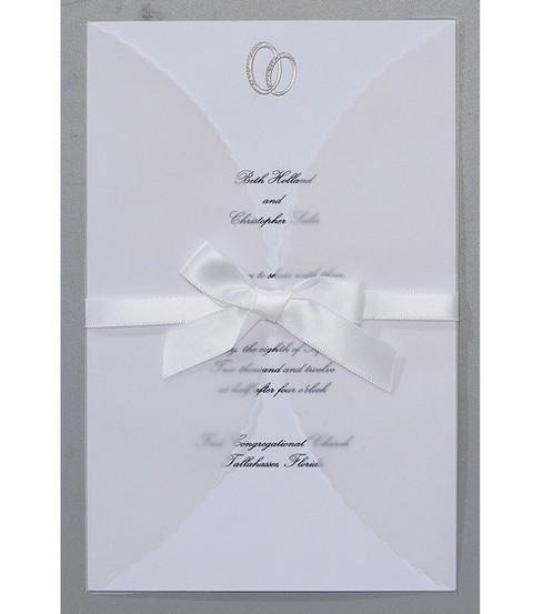 Wilton 25ct Print-Your-Own Invitations Kit-Infinity
