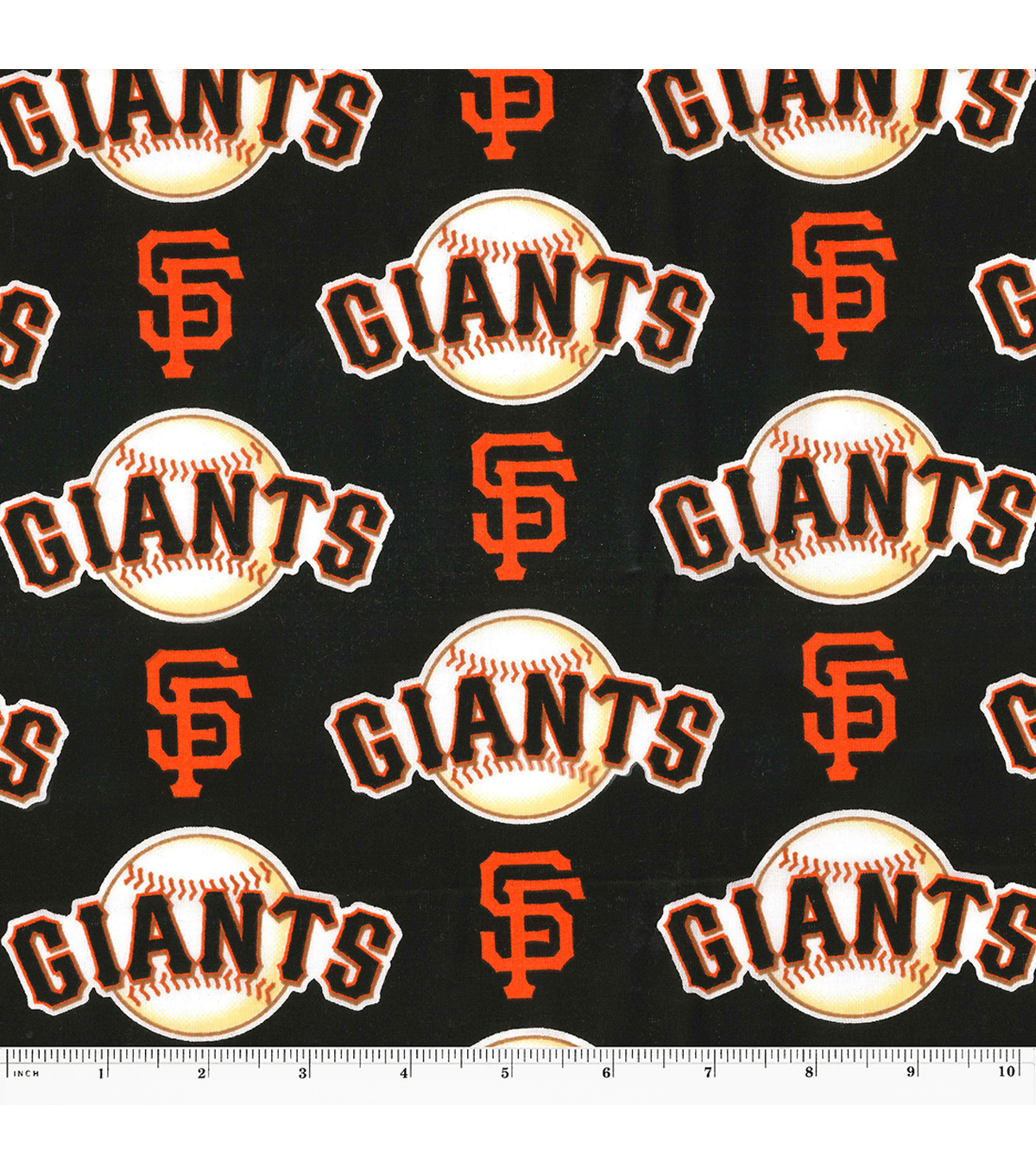 San Francisco Giants Cotton Fabric -Logo