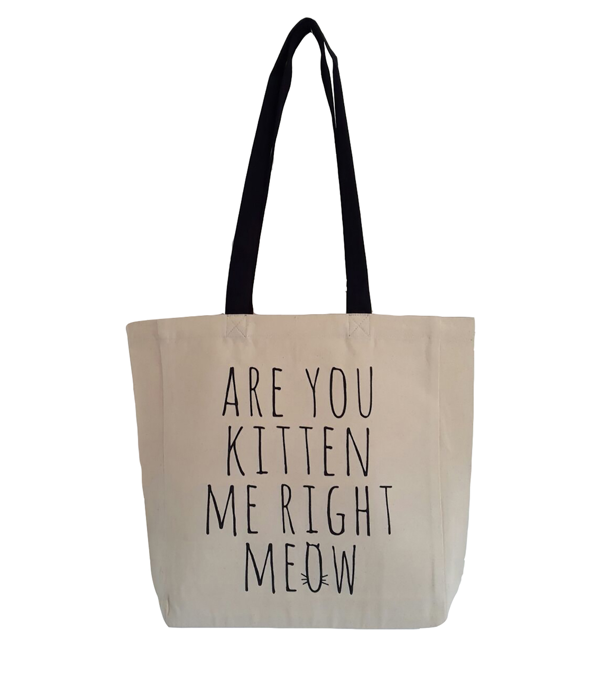 Canvas Tote-Kitten Me