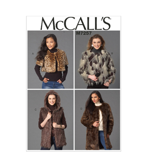 McCall\u0027s Misses Outerwear-M7257