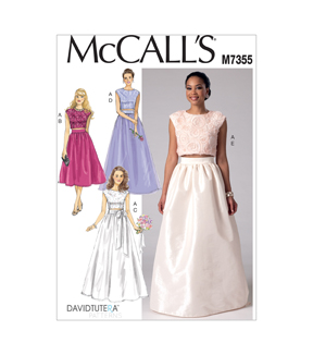 McCall\u0027s Misses Special Occasion-M7355