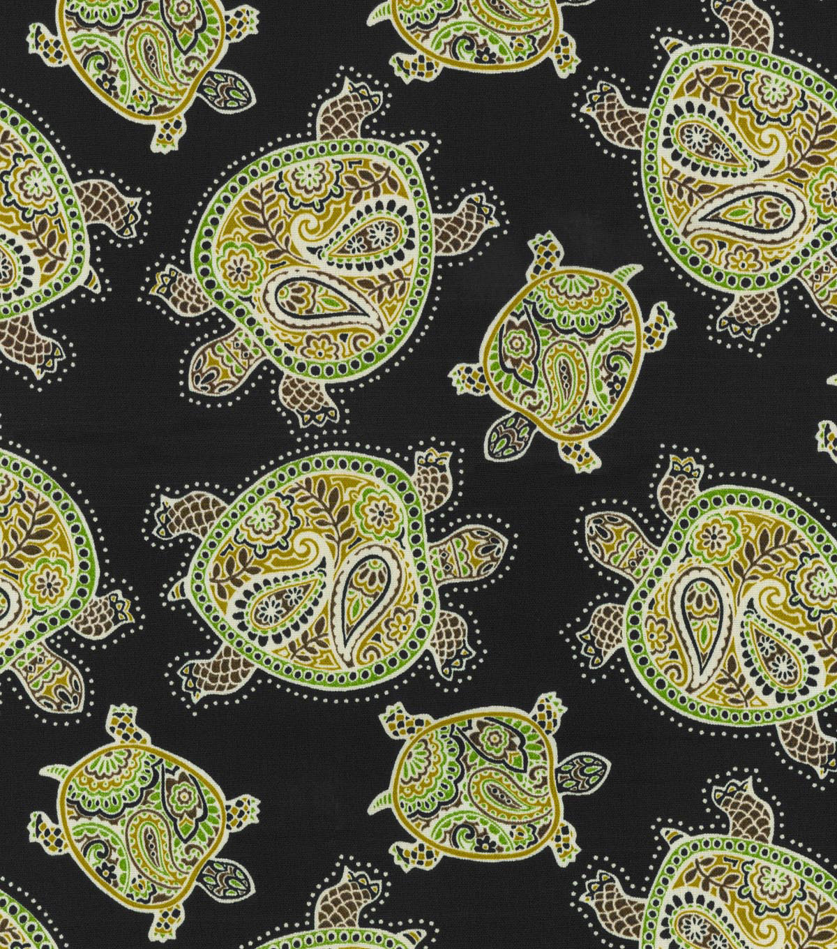 Ms Tbo Tranquil Turtles Black Sand Swatch