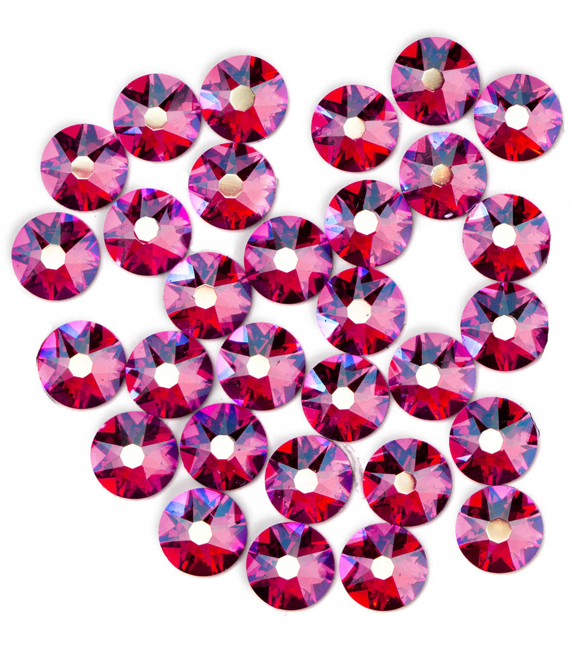 Swarovski Create Your Style 30 pk Hotfix Crystals-Siam Shimmer