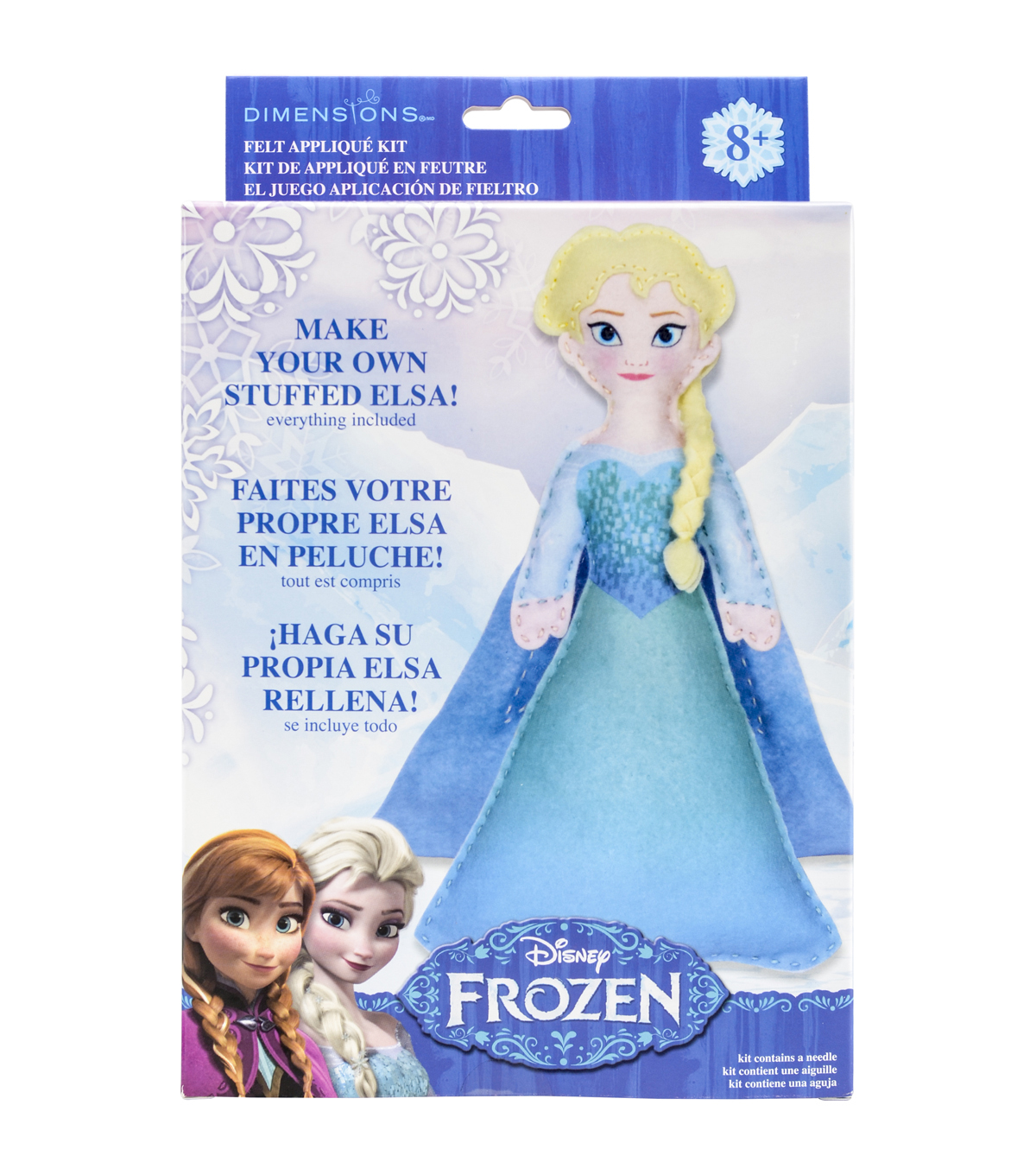 Dimensions Disney Frozen Elsa Felt Applique Kit