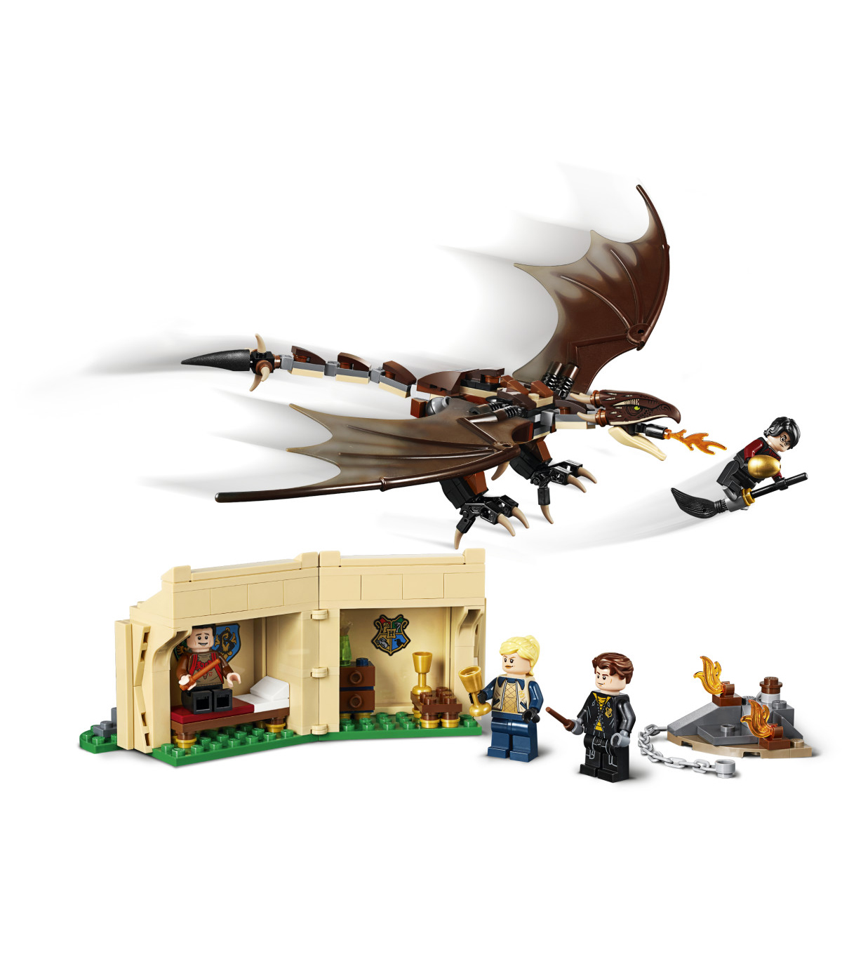 LEGO Harry Potter Hungarian Horntail Dragon Mini Build from 75946