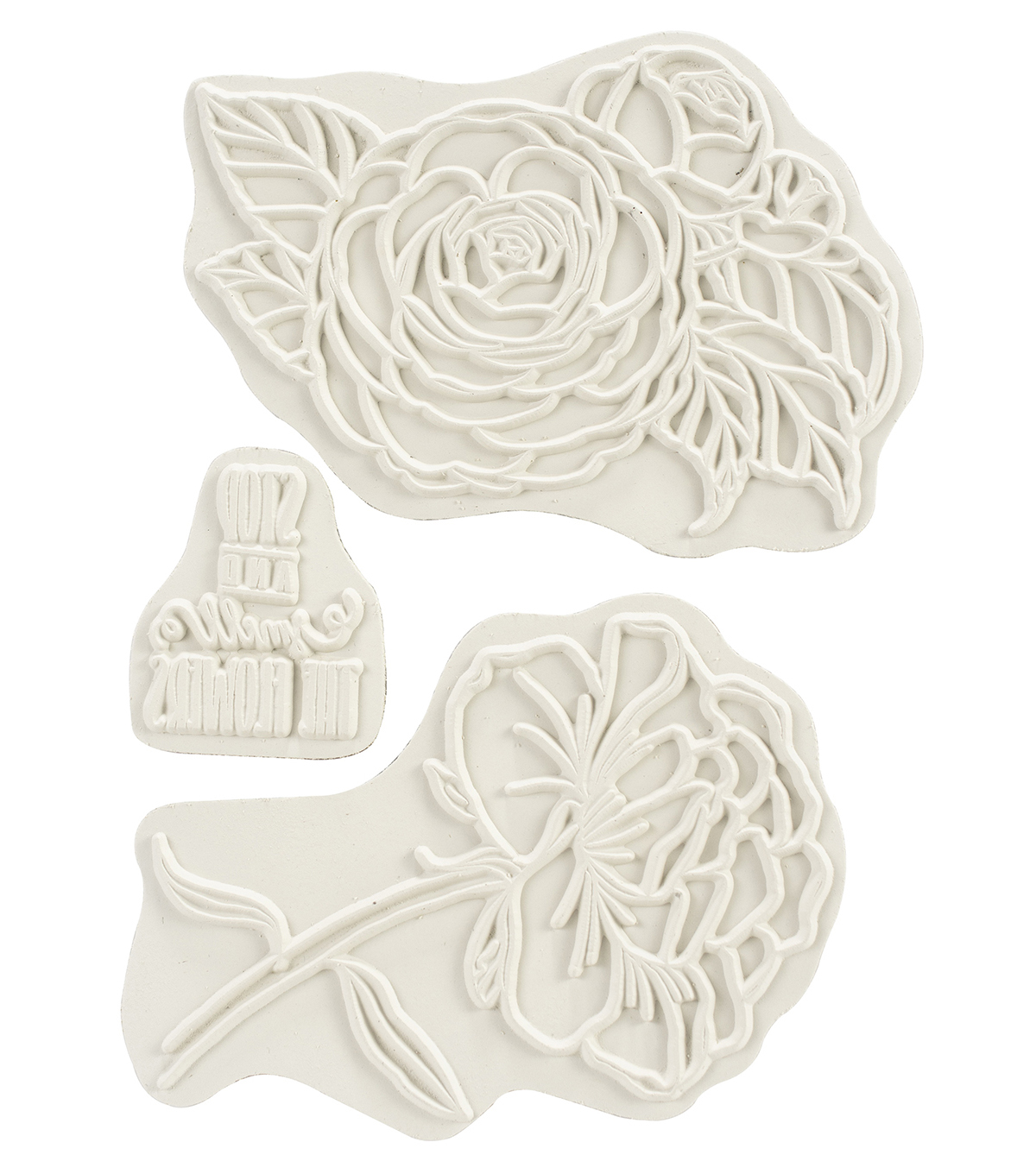 Carabelle Studio Cling Stamp A6 By Sultane-Stop & Smell The Flowers