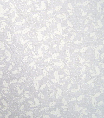 Holiday Cotton Fabric -Tonal Holly